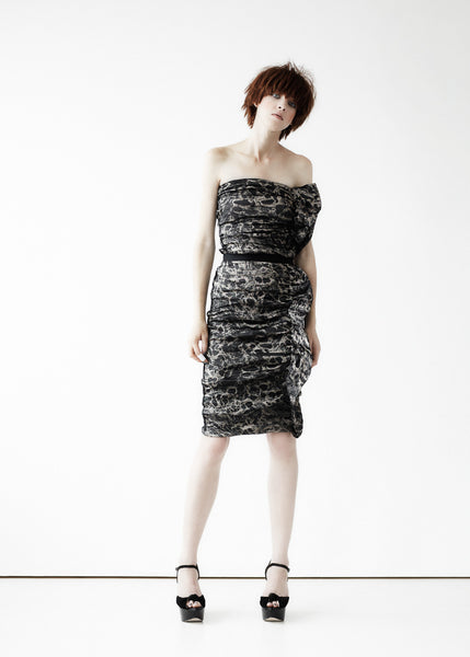 La Petite S***** SS11 ruffle animal print dress