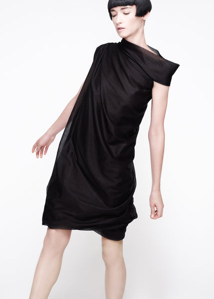 La Petite S***** SS11 black cotton voile dress