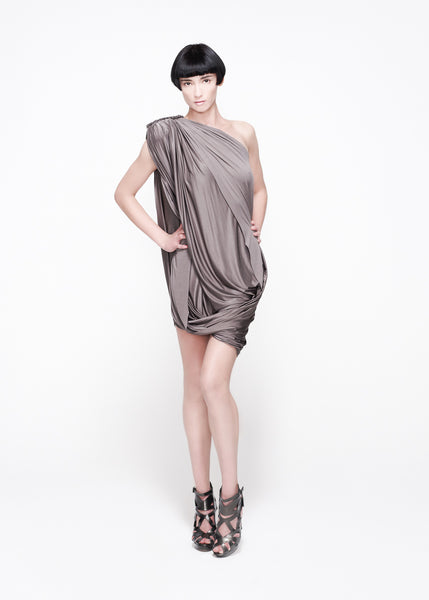 La Petite S***** SS11 jersey one shoulder dress