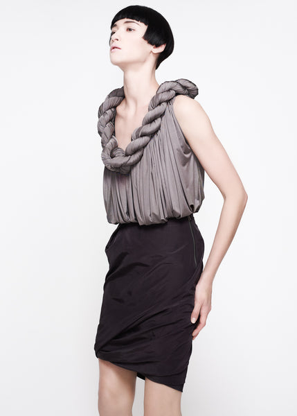 La Petite S***** SS11 rope detail top and skirt