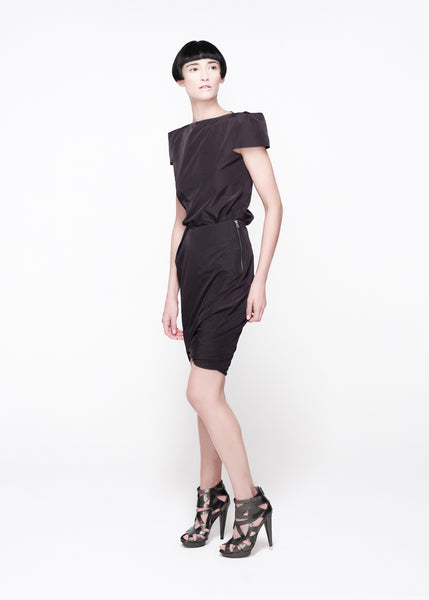 Square shoulder top and skirt La Petite S***** SS11