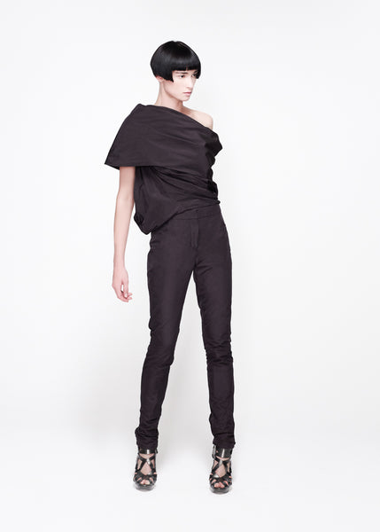 La Petite S***** SS11 shawl collar top and trousers