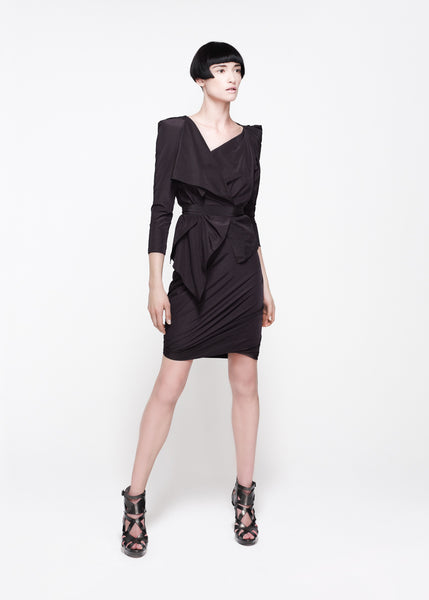 La Petite S***** SS11 taffeta asymmetric jacket and skirt