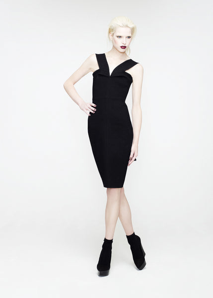 La Petite S***** SS12 v strap dress in black