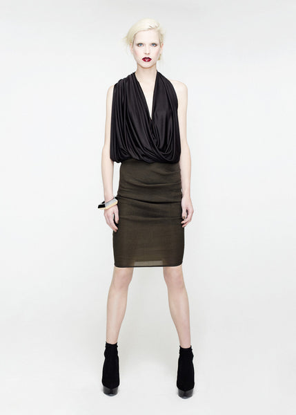 Jersey draped top by La Petite S***** SS12