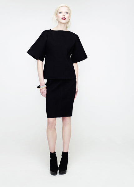 La Petite S***** SS12 black jacket and skirt