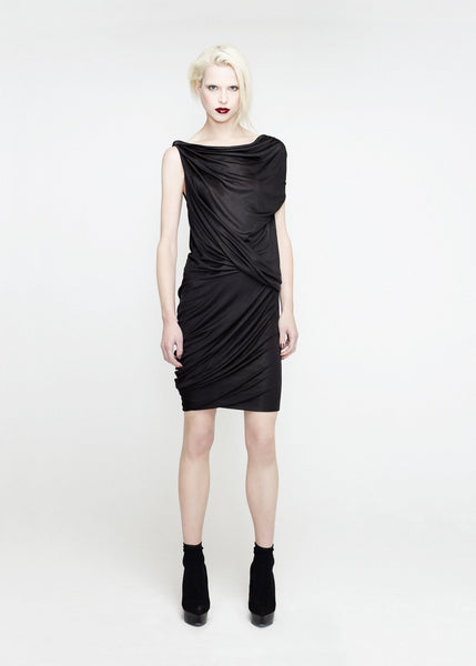La Petite S***** SS12 draped jersey top and skirt