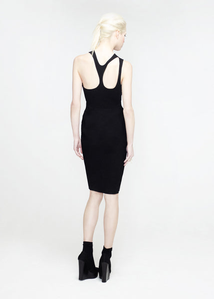 La Petite S***** SS12 cut out dress in black - back view