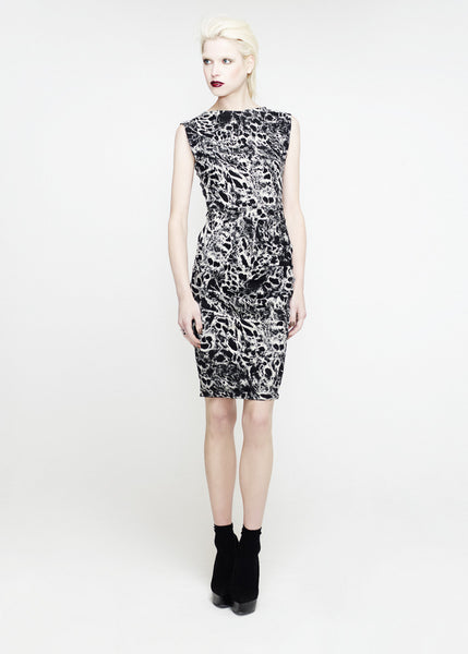 La Petite S***** SS12 black and white print dress