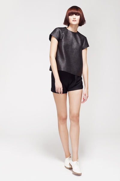La Petite S***** SS13 black top and shorts