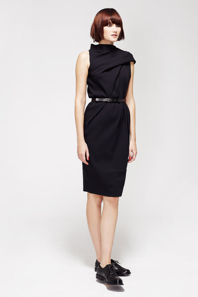 La Petite S***** SS13 silk crepe dress in black