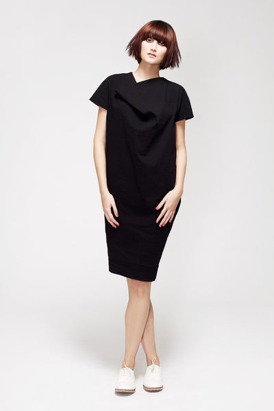 La Petite S***** SS13 sack dress in black linen
