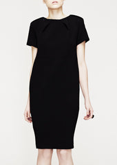 La Petite S black shift dress la petite s*****
