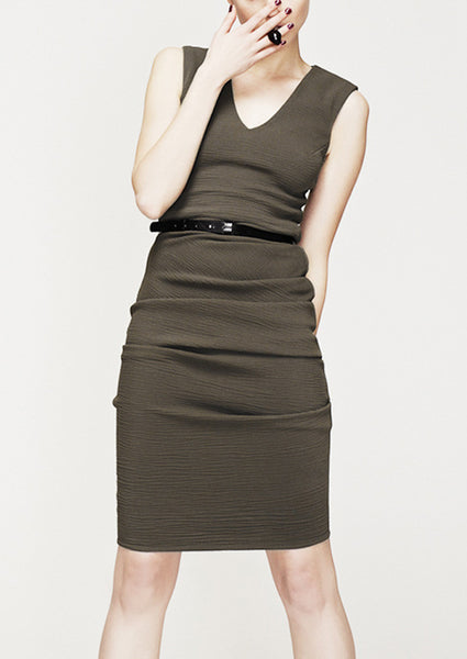 la petite s v neck vest dress