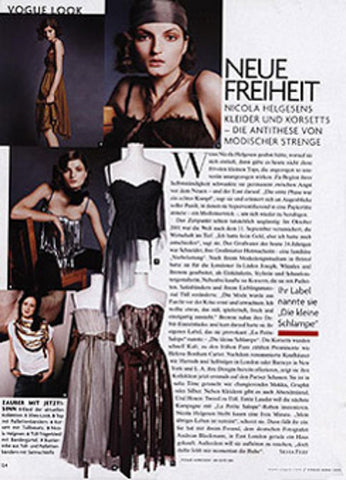 German vogue on La Petite S*****