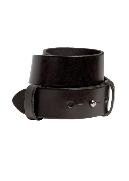 black leather belt La Petite S*****