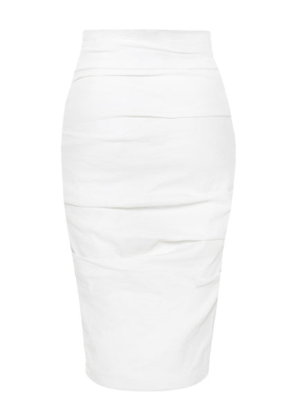La Petite S***** linen pencil skirt