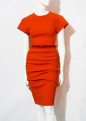 orange La Petite S, cap sleeve dress la petite s*****