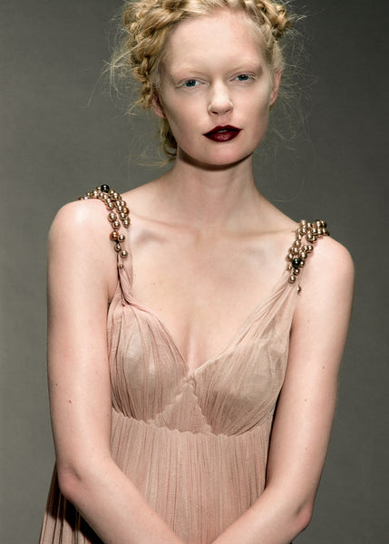 Tulle dress with embroidered straps La Petite S***** SS06
