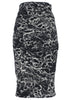 La Petite S animal print skirt