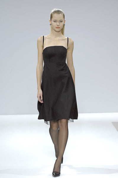 Charcoal wool dress La Petite S***** AW07