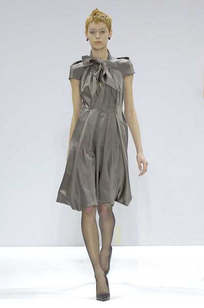 La Petite S***** duchess satin dress Autumn Winter 07