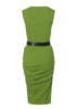 vest dress in lime by la petite s