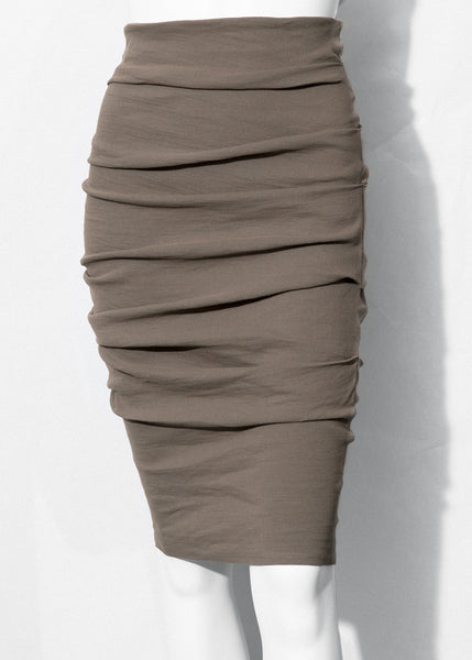 sage La Petite S***** stretch linen skirt
