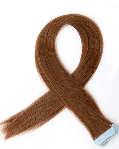 Tape In Synthetic Hair Extensions 22inch 40 Pieces/pack Long Hairpiece Straight Hair