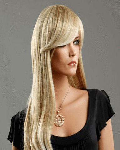 Clip In Synthetic Straight Hair Extensions 7 Pieces 24inch Long Hairpiece Hair