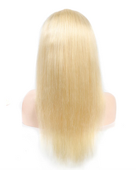 Synthetic Straight Hair 13x6 Lace Frontal Wig 22-26inch 613 Color Fiber Hair Wigs