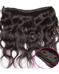 Remy Braziian Body Wave Human Hair One Bundles 8-30inch Natural Color