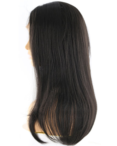 Synthetic Straight Hair 13x4 Lace Frontal Wig Natural Color