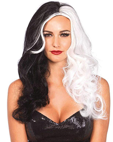 Cosplay Costume Party Halloween Colorful Hairpiece Women's Long Wavy Wig Costume Accessory