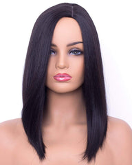 14inch Bob Wigs Short Straight Synthetic Wigs for Women Natural Looking Heat Resistant