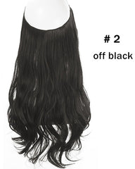 Halo Hair  Extensions Synthetic Wave Hair 16inch 120Gram