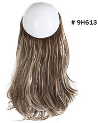 Halo Hair  Extensions Synthetic Wave Hair 14inch 120Gram