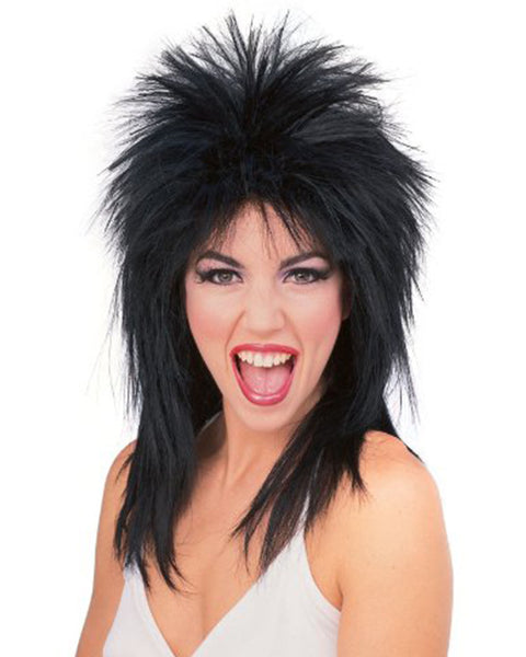 Cosplay Costume Party Halloween Colorful Hairpiece Costume Spiked Rocker Wig