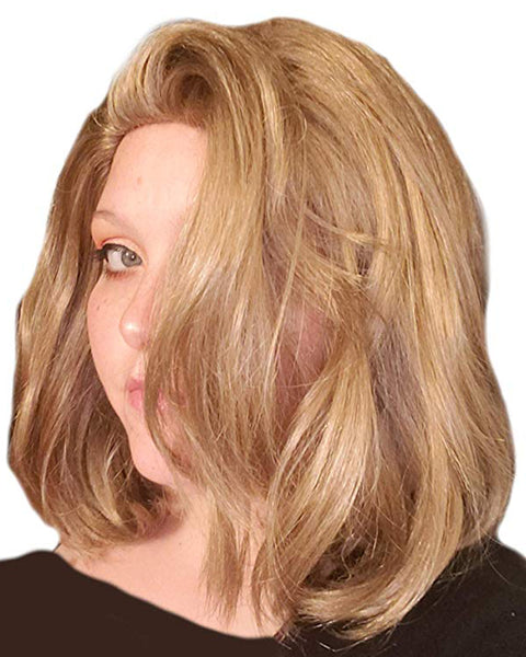 Blonde Female Comic Super Hero Wig Captain Wig