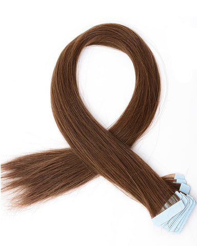 Tape In Synthetic Straight Hair Extensions 24inch 40 Pieces/pack Long Hairpiece Hair