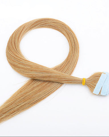 Tape In Synthetic Straight Hair Extensions 20inch 40 Pieces/pack