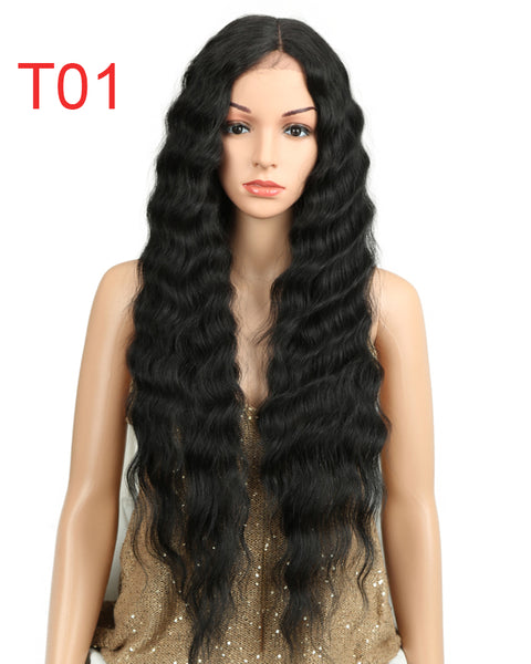 L-Part Synthetic Lace Front Wigs