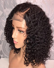 Remy Human Hair Wig For Black Women 13x6 Lace Front Curly Brazilian Virgin Hair Glueless with Baby Hair