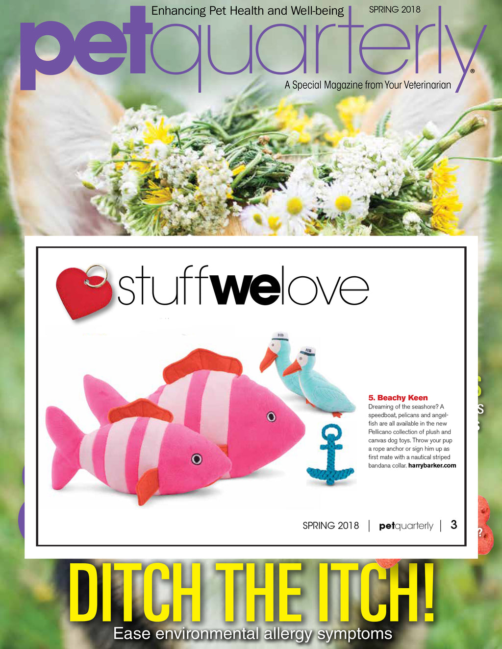 Pet Quarterly Spring 2018