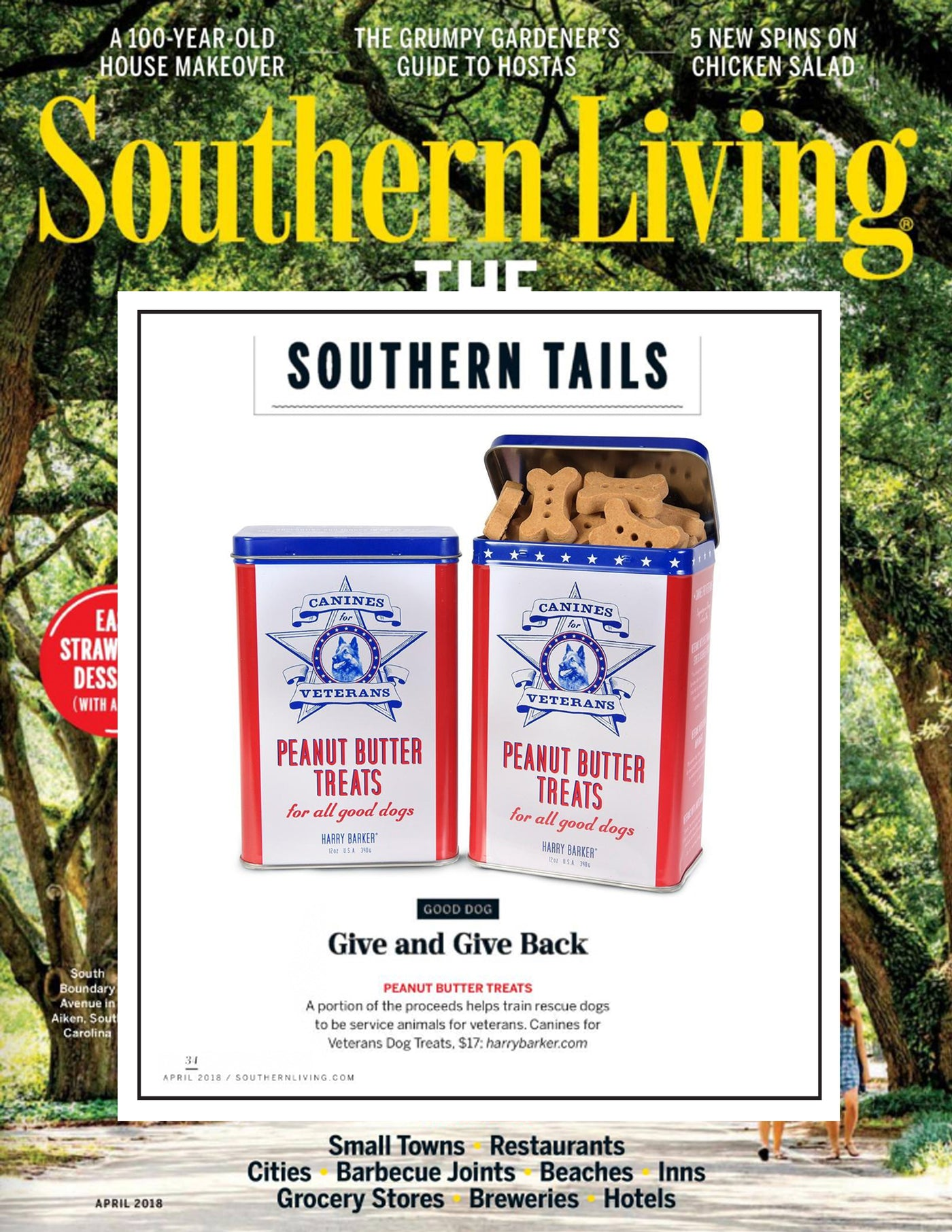 Southern Living April 2018