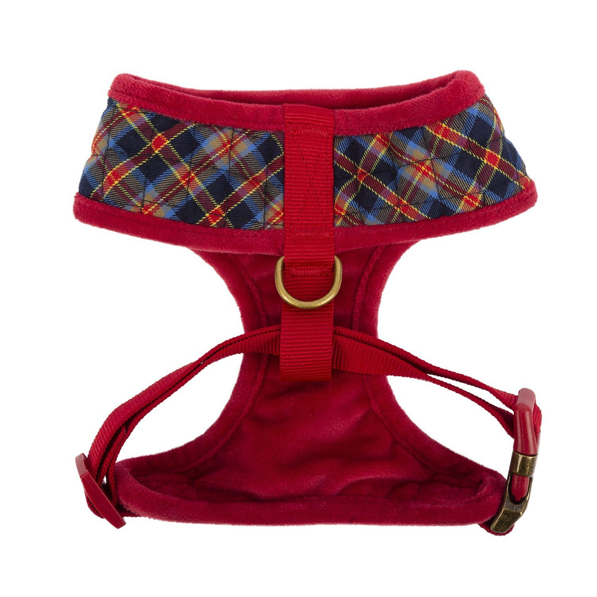 Quilted Plaid Harness