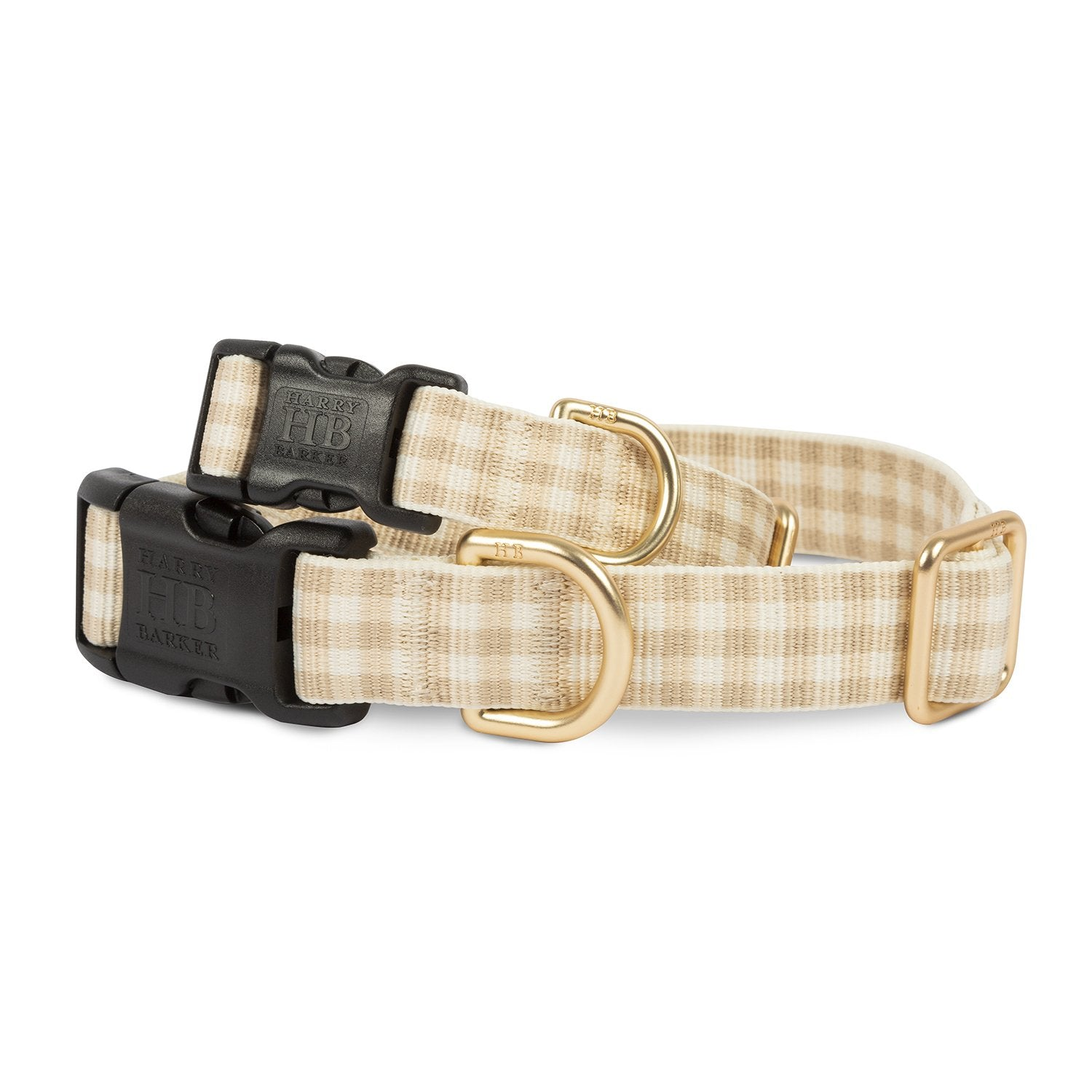 Farmhouse Check Dog Collar