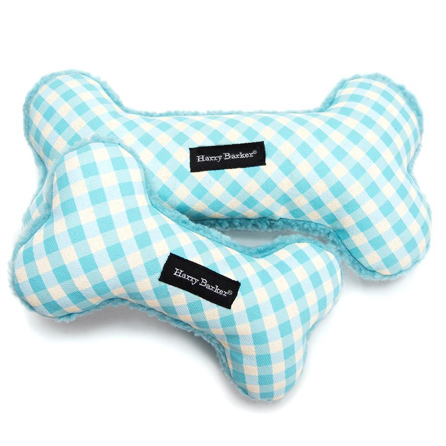 Canvas Toy - Gingham Bone Canvas Toy