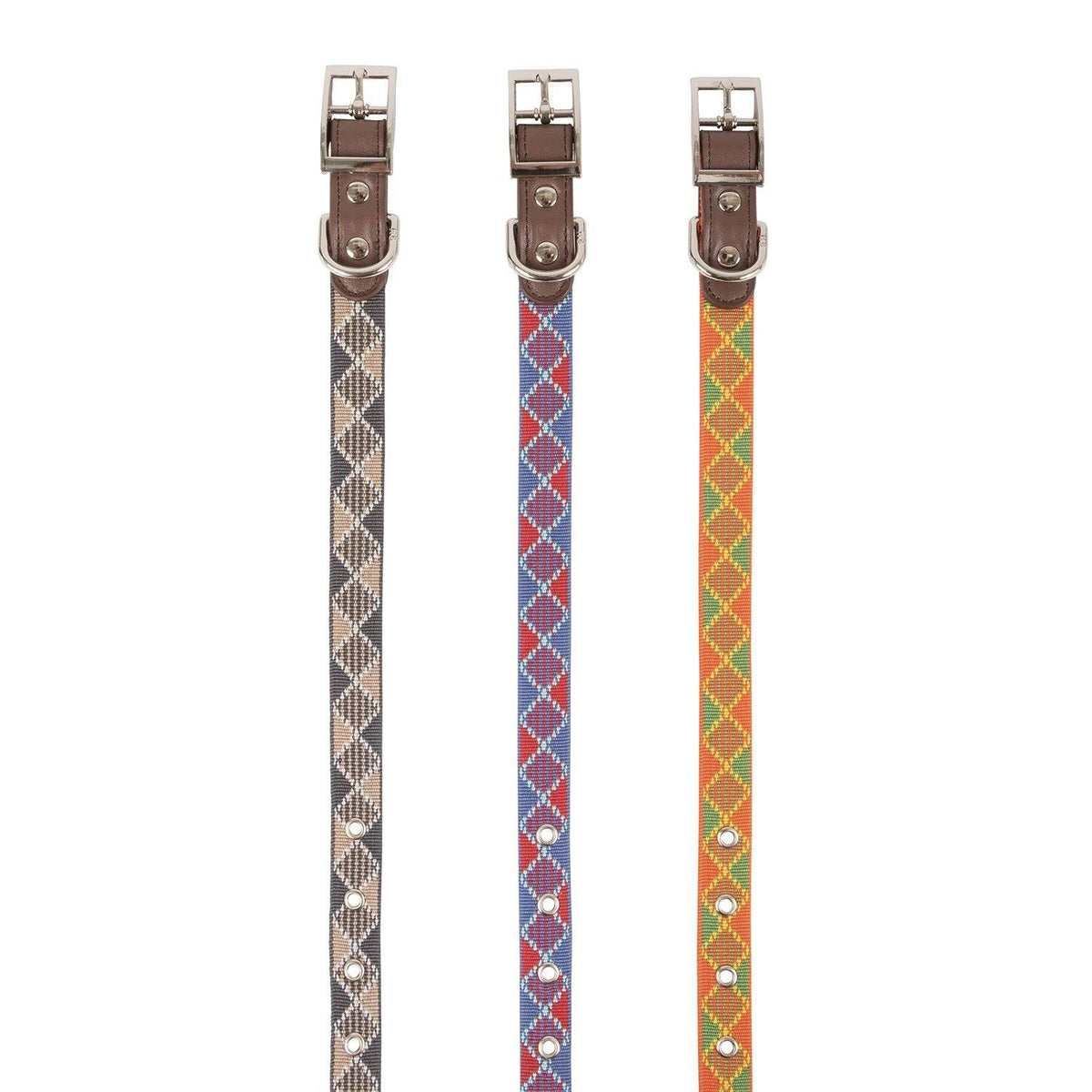 Collar - New! Plaid Dog Collar