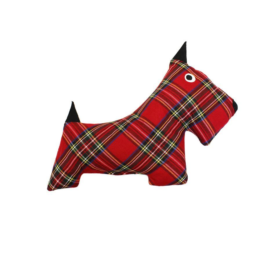 Plush Toy - Plaid Scottie Toy
